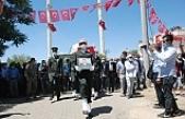 Şehit Uzman Çavuş Halit Altun, Midyat'ta Son Yolculuğuna uğurlandı