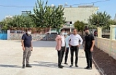 Dargeçit'te Okullarda Başlatılan Çevre Düzenleme Çalışmaları Tamamlandı