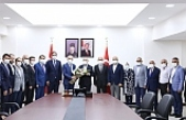 Esnaf Temsilcileri Vali Demirtaş'ı Ziyaret Etti