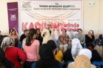 Büyükşehir Belediye 17 Mahallede 5 Bin Kadınla Buluştu