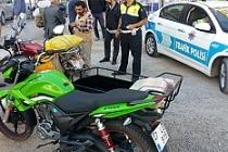 """Midyat'ta motosiklet sürücülerine """"Son Sürat"""" uygulaması"""