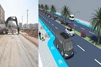 Nusaybin'in Cumhuriyet Caddesinde Yeni Düzenleme