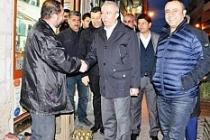 AK Parti Mardin Milletvekili Orhan Miroğlu Esnafı Ziyaret Etti