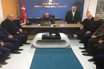 AK Parti İl Başkanı Eri, İlçe Teşkilatlarını ziyaret etti