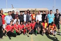 Sığınmacılar için düzenlenen futbol turnuvası sona erdi