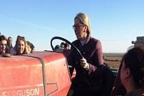 AK Partili Bölünmez Çankırı'nın, tarım konularıyla ilgili temasları