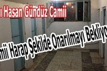 Camii Tuvaletleri Harap Şekilde Onarılmayı Bekliyor…