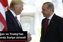 Erdoğan ve Trump'tan Telefonda Suriye Zirvesi