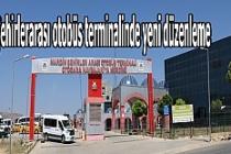 Şehirlerarası otobüs terminalinde yeni düzenleme