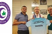 Vali Yaman, 1947 Mardin Sağlıkspor Kulübünü Ziyaret etti