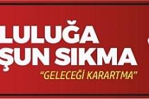 """Bakanlık Genelge Yayımladı, """"Mutluluğa Kurșun Sıkma Geleceği Karartma"""""""