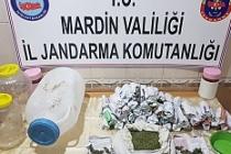 Midyat'ta 1 kilo 800 gram uyuşturucu ele geçirildi