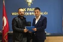 Halil Polat, AK Parti'den Meclis Üyeliğine Başvurusunu Yaptı