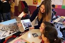 Öğrencilere artırılmış gerçeklikle tarih ve bilim anlatılıyor