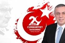 Başkan Şahin'den, 29 Ekim Cumhuriyet Bayramı mesajı