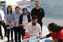 Ceza İnfaz Kurumunda Barış Pınarı Harekatı'na kan bağışı desteği