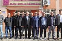 Başkan Şahin Midyat MYO Yeni Müdürünü Ziyaret Etti