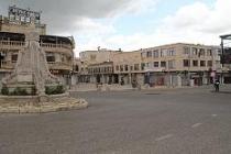 Midyat'ta sokağa çıkma yasağının ardından caddelerde sessizlik hakim oldu