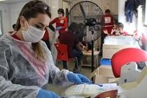 Midyat'ta Türk Kızılay'a kan bağışı seferberliği