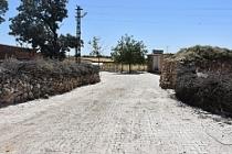 Bostanlı Mahallesinin parke taşı döşeme çalışmaları tamamlandı.