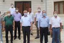 Esnaflar ve Tekstilciler Başkan Şahin'i Ziyaret Etti