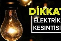 Kızıltepe'de Elektrik Kesintisi