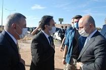 Ulaştırma ve Altyapı Bakanı Adil Karaismailoğlu Midyat'ta