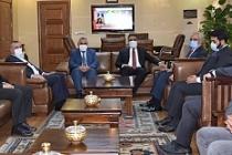 Kuveyt Büyükelçisinden MAÜ'ye Ziyaret