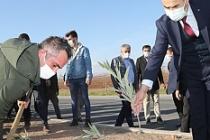 Vali Demirtaş, Ağaçlandırma Etkinliğine Katıldı