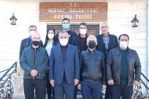 Başkan Şahin, 10 Ocak Gazeteciler Gününü Pasta Keserek Kutladı