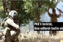 Son dakika haberler: Mardin'de PKK'lı terörist, ikna edilerek teslim oldu