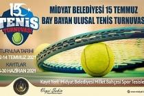"""Midyat Belediyesi, """"15 Temmuz anısına tenis turnuvası"""" düzenliyor"""