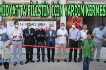 Midyat'ta Filistin için yardım kermesi