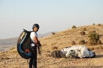 Yamaç paraşütçülerinin yeni durağı: Ayrancı Geçidi