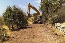 Akçaköy'de Yol Çalışamaları Tamamlandı