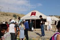 Mardin Büyükşehir Belediyesi, Ahlat Otağında Çadır ve Stant Açtı