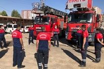 Mardin'de 50 itfaiyeciye eğitim verildi