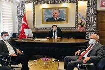Başkan Aksoy'dan, Yeni Kaymakam Özbay'a Hayırlı Olsun Ziyareti