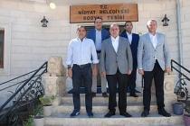 Bölge Müdürleri Başkan Şahin'i Ziyaret etti