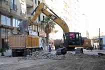 Kızıltepe İlçesi Tandoğan Caddesinde Çalışmalar Başladı