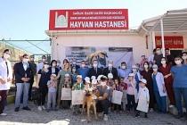Vali Demirtaş, Hayvan Hastanesini Ziyaret Etti