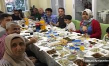 Savur'da, ÇATOM' dan iftar programı
