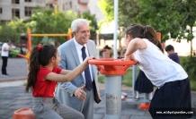 Artuklu Belediyesi Parklar Konusunda Başarıyla Çalışıyor