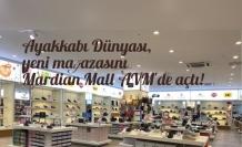Ayakkabı Dünyası, yeni mağazasını Mardian Mall AVM'de açtı!