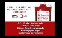 Kızılay'dan Kan Bağışı Kampanyasına Davet
