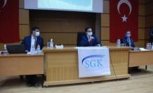 Mardin SGK' dan Tekstil sektörü temsilcilerne bilgilendirme