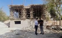 Dargeçit'te Kütüphane-Bilgi Evi İnşaatı Hızla İlerliyor