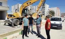 Kızıltepe'de Asfaltlama çalışmaları