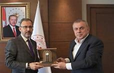 Başkan Şahin, Bakan Kasapoğlu'nu ziyaret etti