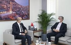 Sajad Soltanzadeh Vali Demirtaş'ı Ziyaret Etti